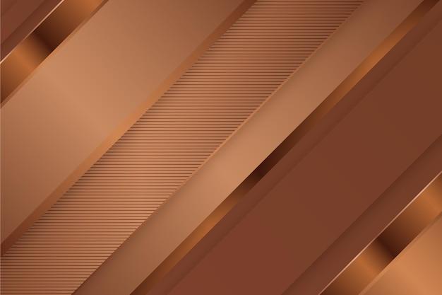 Sfondo di lusso oro con linee oblique