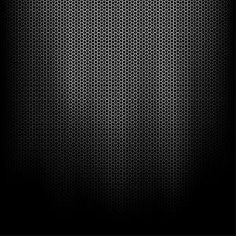 Sfondo di maglia metallica scura