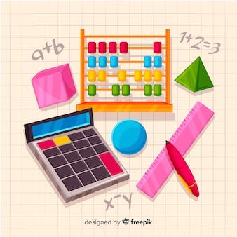 Sfondo di matematica