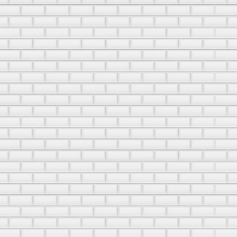 Sfondo di mattoni bianchi