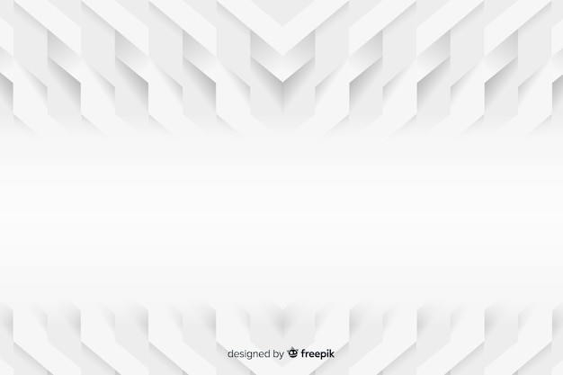 Sfondo di modelli geometrici in stile carta