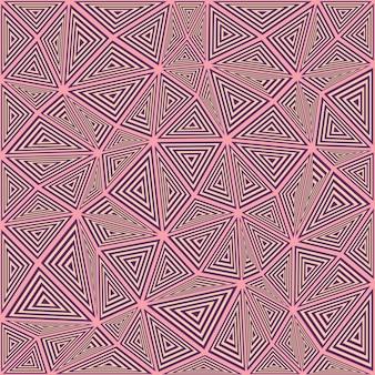 Sfondo di mosaico puzzle triangolo a righe