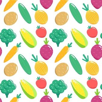 Sfondo di motivo vegetale