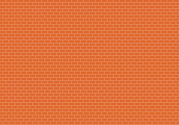 Sfondo di muro di mattoni rossi