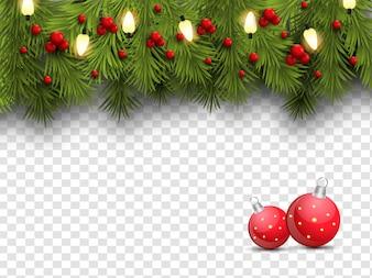 Sfondo di Natale allegro.