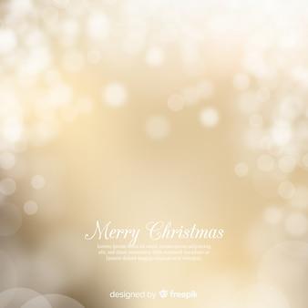 Sfondo di Natale d'oro