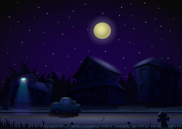 Sfondo di notte