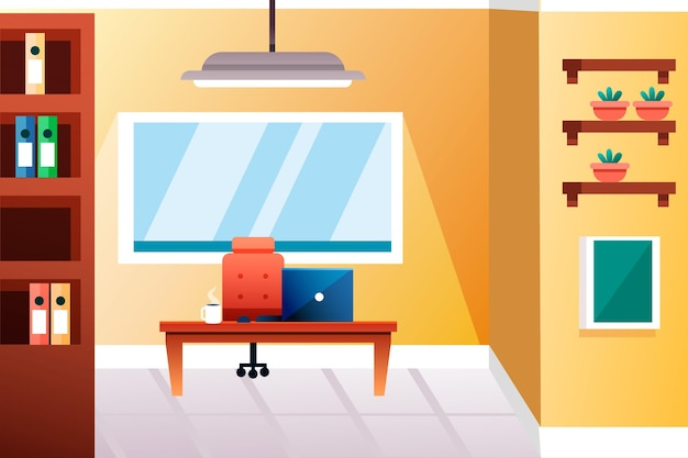 Sfondo di office per videoconferenze