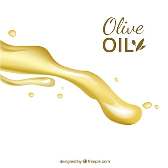 Sfondo di olio di oliva sano