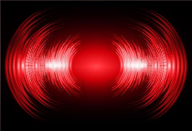 Sfondo di onde sonore rosso scuro