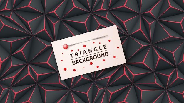 Sfondo di origami di carta business