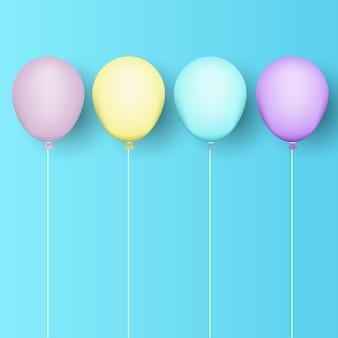 Sfondo di palloncini