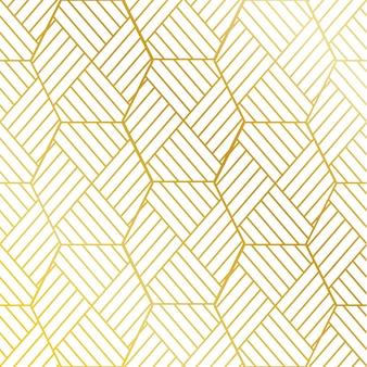 Sfondo di pattern di strisce dorate
