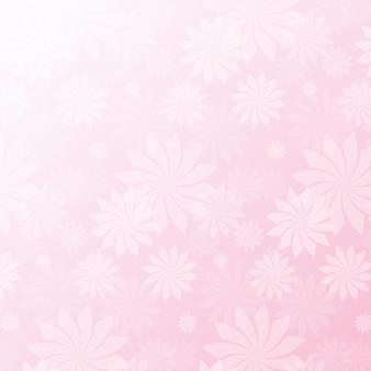 Sfondo di pattern rosa fiori