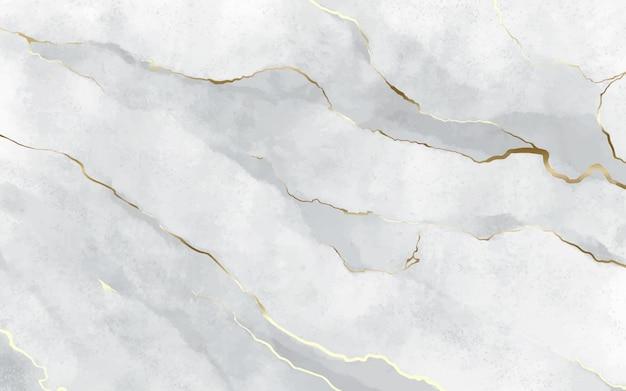 Sfondo di pietra con tratti dorati
