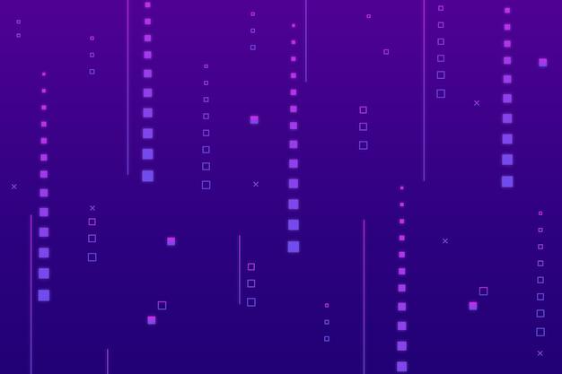 Sfondo di pioggia cyber pixel