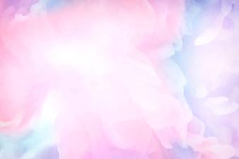 Sfondo di pittura ad acquerello rosa vibrante