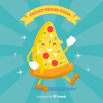 Sfondo di pizza