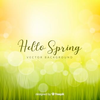 Sfondo di primavera abbagliante