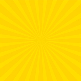 Sfondo di raggi luminosi gialli