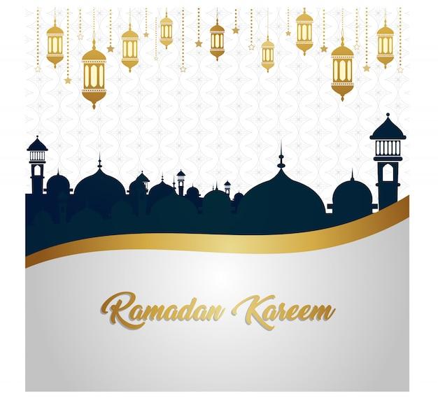 Sfondo di ramadan kareem