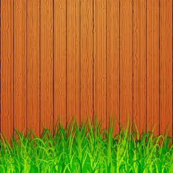 Sfondo di recinzione del giardino
