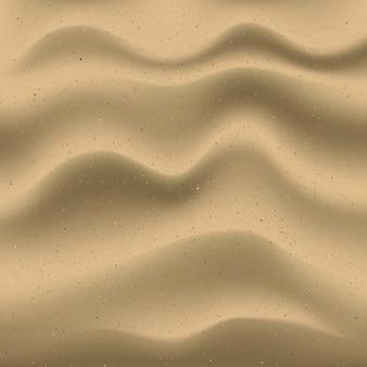 Sfondo di sabbia realistico