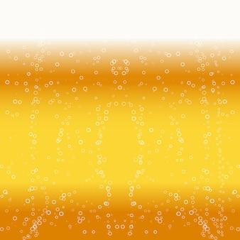Sfondo di schiuma di birra