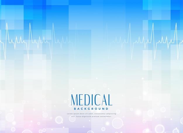 Sfondo di scienza medica per l'industria sanitaria