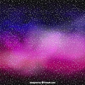 Sfondo di stelle piena di galassia