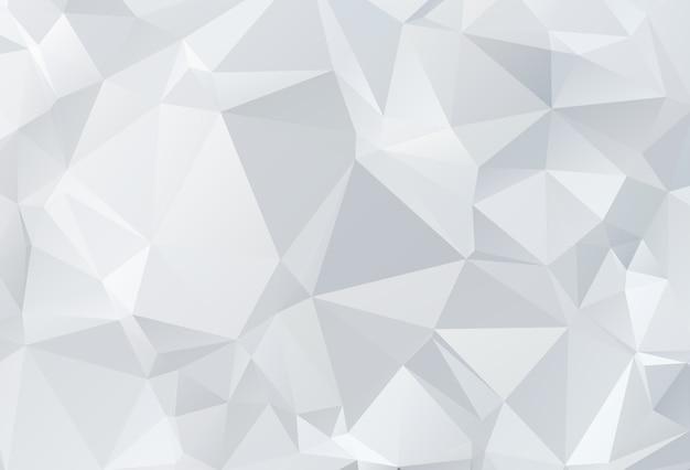 Sfondo di stile origami triangolare basso poli