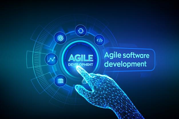 Sfondo di sviluppo software agile