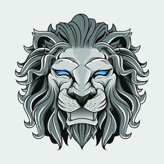Sfondo di testa di leone