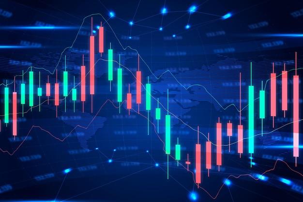 Sfondo di trading forex