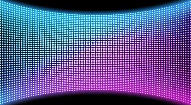 Sfondo di trama schermo video parete a led, display