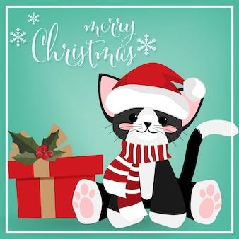 Sfondo di vacanze natalizie di natale.