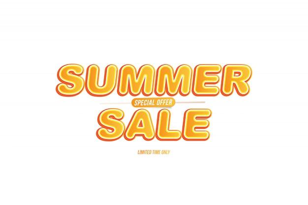 Sfondo di vendita estiva