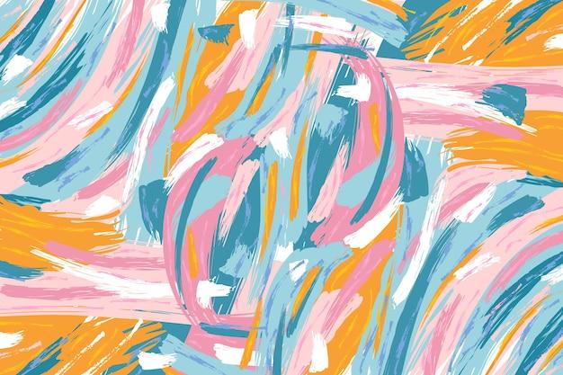 Sfondo dipinto a mano astratto