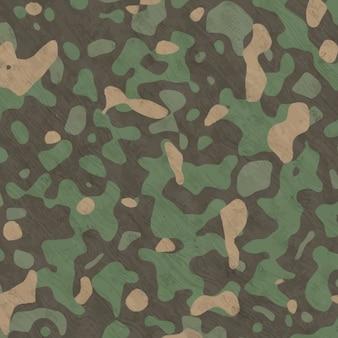 Sfondo dipinto camouflage mano acquerello