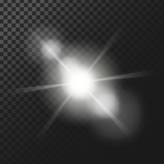 Sfondo effetti di luce