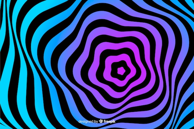 Sfondo effetto illusione ottica