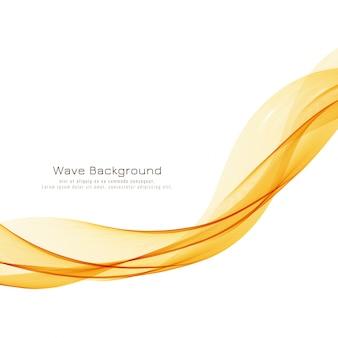 Sfondo elegante onda luminosa astratta