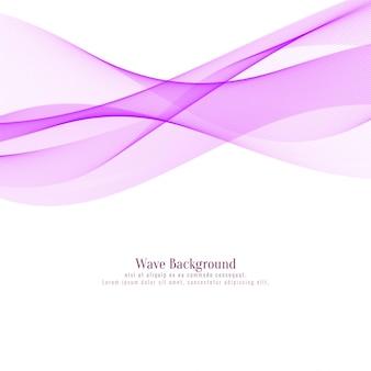 Sfondo elegante onda rosa astratta