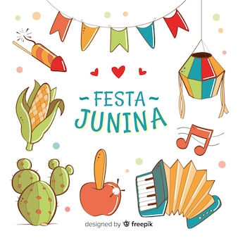 Sfondo festa junina