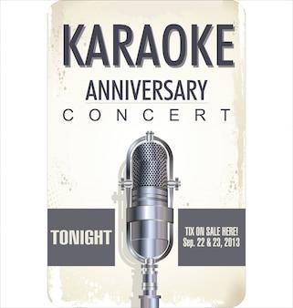 Sfondo festa karaoke
