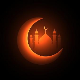 Sfondo festa musulmana
