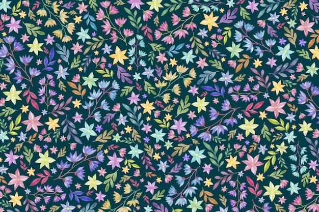 Sfondo floreale colorato