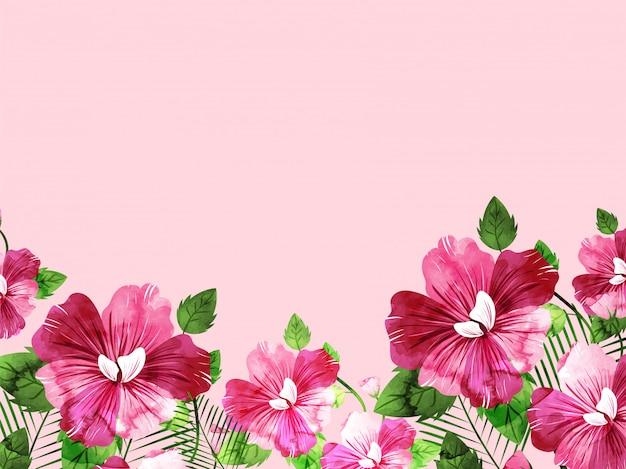 Sfondo floreale.