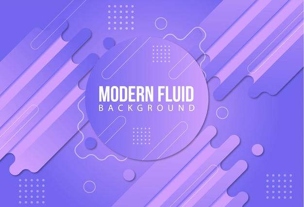 Sfondo fluido moderno
