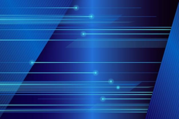 Sfondo futuristico di linee ad alta velocità